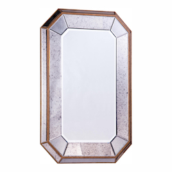 Elegant Decor Clear Mirror 32in. Wide Mirror from the Antique Collection