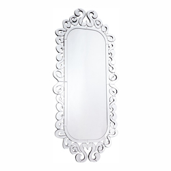 Elegant Decor Clear Mirror 59in. Wide Mirror from the Modern Collection