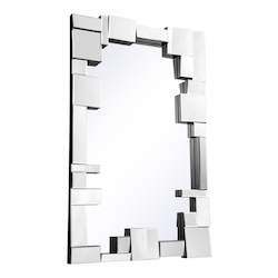 Elegant Decor Clear Mirror 50in. Wide Mirror from the Modern Collection