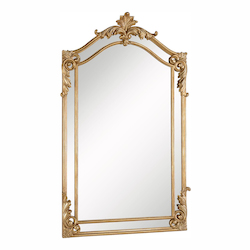 Elegant Decor Clear Mirror 30in. Wide Mirror from the Antique Collection