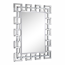 Elegant Decor Clear Mirror 48in. Wide Mirror from the Modern Collection