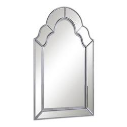 Elegant Decor Clear Mirror 25in. Wide Mirror from the Antique Collection