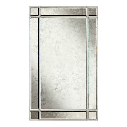 Elegant Decor Rectangular Mirror 22In.X0.75In.X36In.H Sa