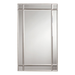 Elegant Decor Rectangular Mirror 22In.X0.75In.X36In.H Sc