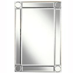 Elegant Decor Rectangular Mirror 24In.X0.75In.X36In.H Sc
