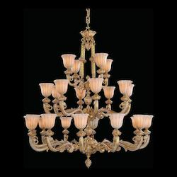 Crystorama White Chandelier