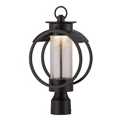 Designers Fountain Burnished Bronze Arbor 1 Light Lantern Post Light