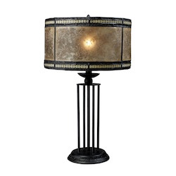 ELK Lighting Mica Filagree Tiffany Table Lamp