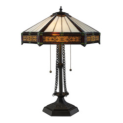 ELK Lighting Filigree Tiffany Table Lamp