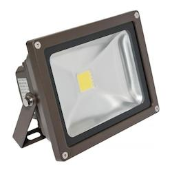American Lighting Panorama Pro 201, 25 Watt,  3000K, Dark Bronze, Flood Light