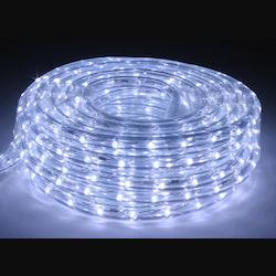 American Lighting 15-Foot Cool White Led Flexbrite Rope Light Kit With Mounting Clips, 120 Volt 1/