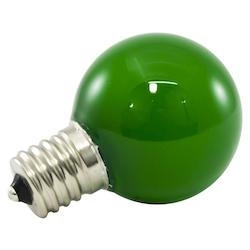 American Lighting Premium Grade Led Lamp Intermediate Globe, Intermediate Base, Frosted Green Glas