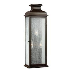 Feiss Open Box 3 - Light Outdoor Sconce