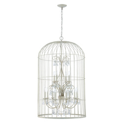 Craftmade 12 Light Chandelier In French White Finish