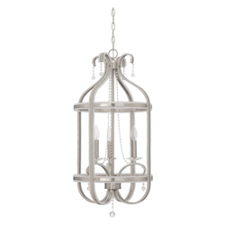 Craftmade 3 Light Foyer In Brushed Nickel Finish
