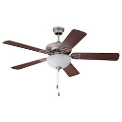 Craftmade Ceiling Fan With Blades In Athenian Obol Finish