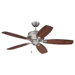 Craftmade Ceiling Fan With Blades In Pewter Finish