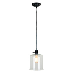 Craftmade 1 Light Mini Pendant With Glass Shade
