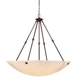 Minka Metropolitan 8 Light Pendant Light With Bronze Patina Finish
