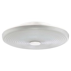 Craftmade Low Profile Led Bowl Light Kit With Ribbed Cased