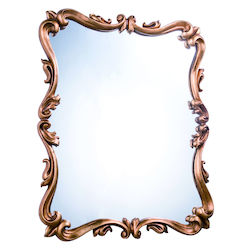 Elegant Decor Antique Gold Leaf 32in. Wide Mirror from the Antique Collection