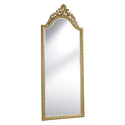 Elegant Decor gold 32in. Wide Mirror from the Antique Collection