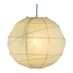 Adesso Orb Large Pendant In Natural
