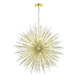 Eglo Gold Plated 56in. Wide 50 Light Pendant from the Vivaldo Collection