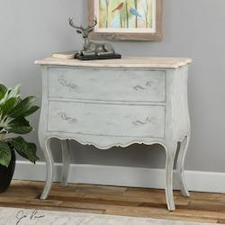 Uttermost Soft Gray Ferrand Dresser Designed By Jim Parsons