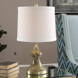 Uttermost Uttermost Capitola Olive Gray Glass Lamp