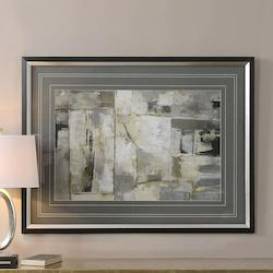 Uttermost Black Satin Walking Down The Street Print Designed By Grace Feyock