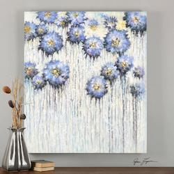 Uttermost Multi-Colored Pops Of Spring Canvas Art Designed By Grace Feyock