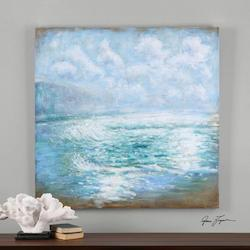 Uttermost Multi-Colored Morning Swells Canvas Art Designed By Grace Feyock