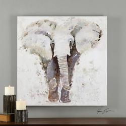 Uttermost Multi-Colored Curiosity Canvas Art Designed By Grace Feyock