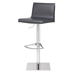 Nuevo Dark Grey Adjustable Colter Adjustable Stool