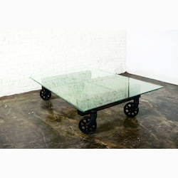 Glass V35 Coffee Table