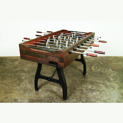 Reclaimed Hardwood Bar Game Foosball Bar Table