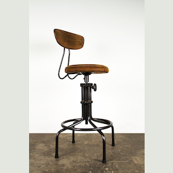 Nuevo Umber Adjustable Buck Adjustable Stool
