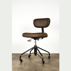 Nuevo Umber Adjustable Back Rand Office Chair