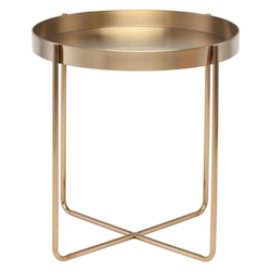Nuevo Gold Gaultier Side Table