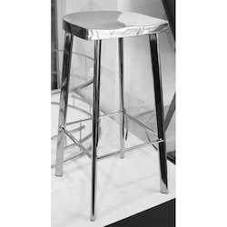 Nuevo Polished Icon Counter Stool