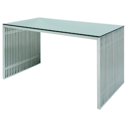Nuevo Stainless Amici Desk