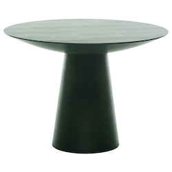 Nuevo Black Round Dania Dining Table