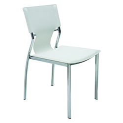 Nuevo White Lisbon Dining Chair