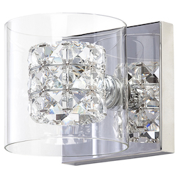 Nuevo Clear Sconce Elsa Sconce