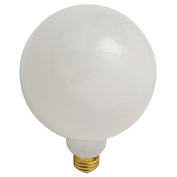 Nuevo White Chrome Bulb Light Bulb