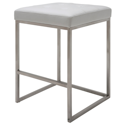 Nuevo White Chi Counter Stool