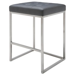 Nuevo Grey Chi Counter Stool