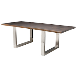 Nuevo Seared Oak Lyon Dining Table