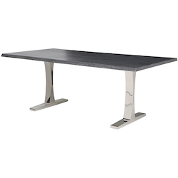 Nuevo Oxidized Grey Toulouse Dining Table
